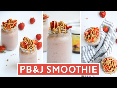 PB&J Smoothie Recipe for Two