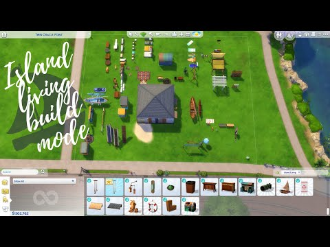 ISLAND LIVING EXPANSION PACK BUILD MODE ITEMS | Sims 4 |