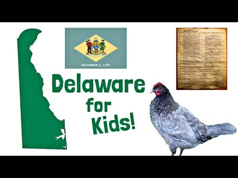 Download Delaware for Kids | US States Learning Video