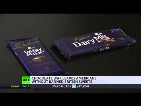 Chocolate War: British sweets banned in US