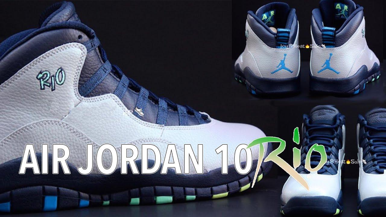 90c05a7997a621 ... cheap air jordan 10 rio review uk sneakers bec50 7fdf2 ...