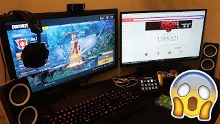 SMALLEST 2018 GAMING SETUP EVER.. IN A CLOSET! - 'Pack A Puncher' 1 Mil Gaming Setup Tour