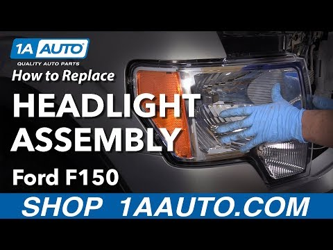 How to Replace Headlight Assembly 09-14 Ford F-150