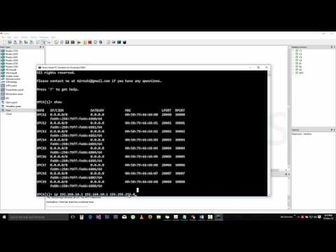 How to configure ip addresses in GNS3