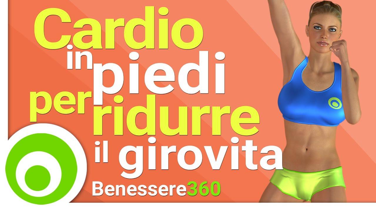 ... Cardio in Piedi per Dimagrire Pancia, Fianchi e Girovita - YouTube