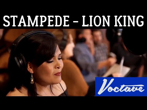 Stampede from The Lion King - Voctave