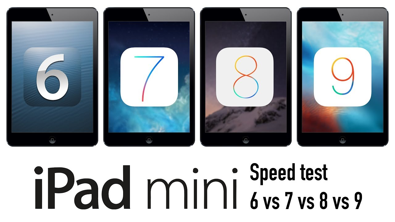 How do i downgrade from ios 9 to ios 6 or 7 on iPad Mini