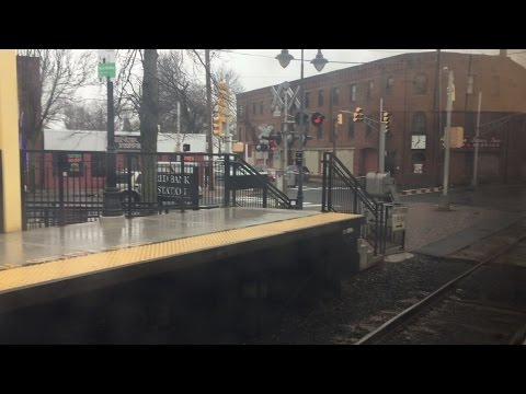 New Jersey Transit HD: Riding Alstom Comet V Cab Car 6004 on NJCL Train 7244 (Red Bank - SEC)