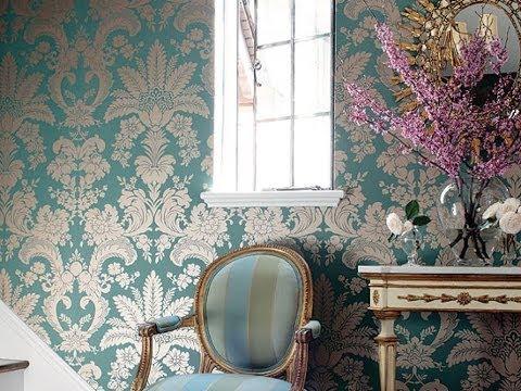 Декор стен тканью своими руками фото