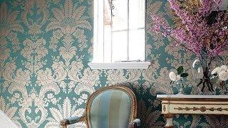 Отделка стен накрахмаленной тканью напоминает старинный интерьер(, 2012-01-28T08:12:33.000Z)