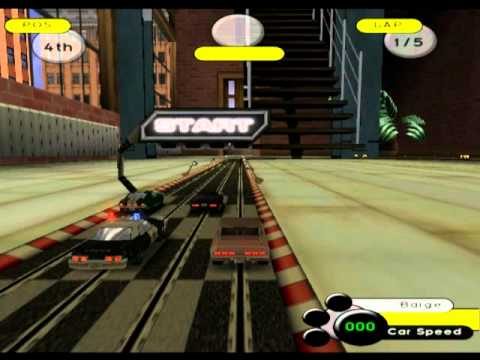Groove Rider: Slot Car Racing (PS2 Gameplay)