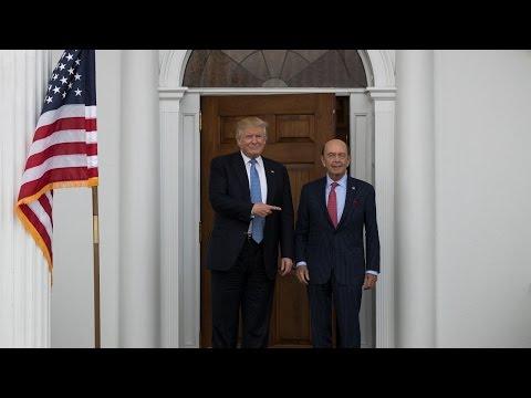 Trump picks Wilbur Ross as secretary of commerce