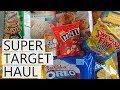 Super Target Haul!   Florida 2018!
