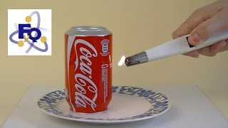 Una lata que se calienta y da saltitos