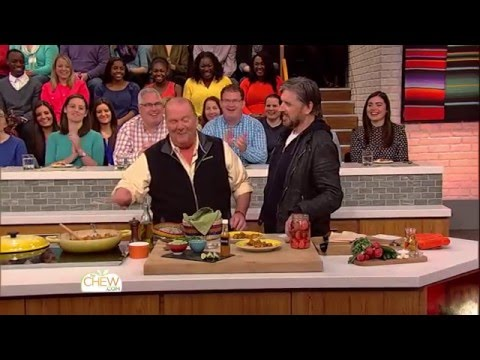 Craig Ferguson Shows Off His Cooking Skills - The Chew
