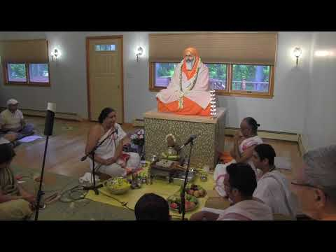 2017 Pujya Swami Dayananda Birthday Puja
