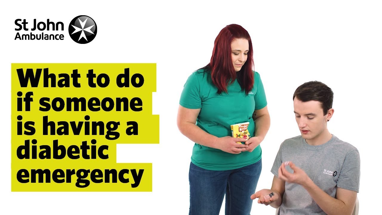 Diabetic Emergencies - First Aid - St John Ambulance