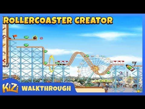 [Kizi Games] Rollercoaster Creator → Walkthrough