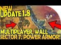 NEW UPDATE 1.8 - NEW MULTIPLAYER UPDATE, POWER ARMOR, WALL SECTOR 7 - Last Day On Earth Survival