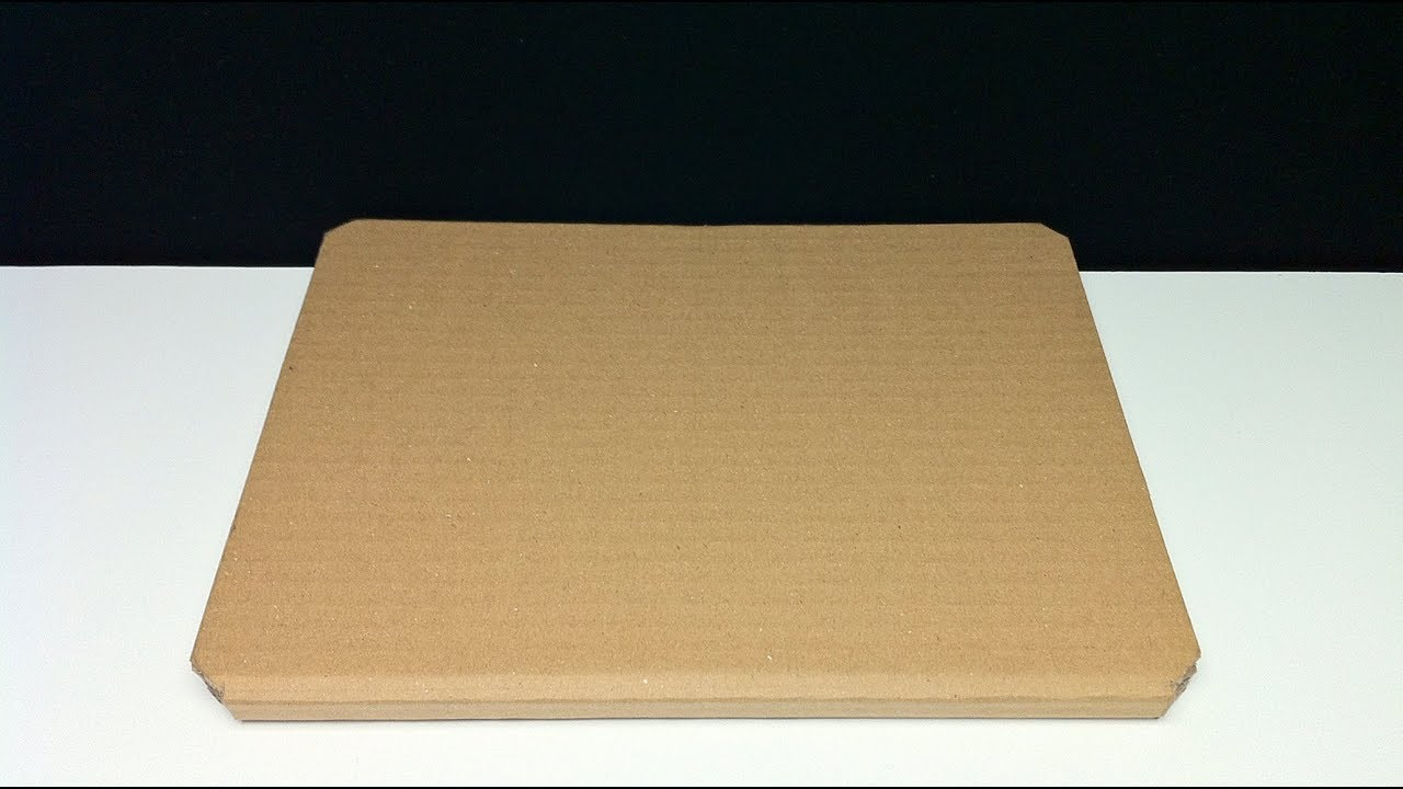 How To Make Case A Tablet Stand Ipad Out Of Cardboard Diy Eco Tablet Case