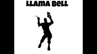 Llama Bell! Leaked fortnite emote