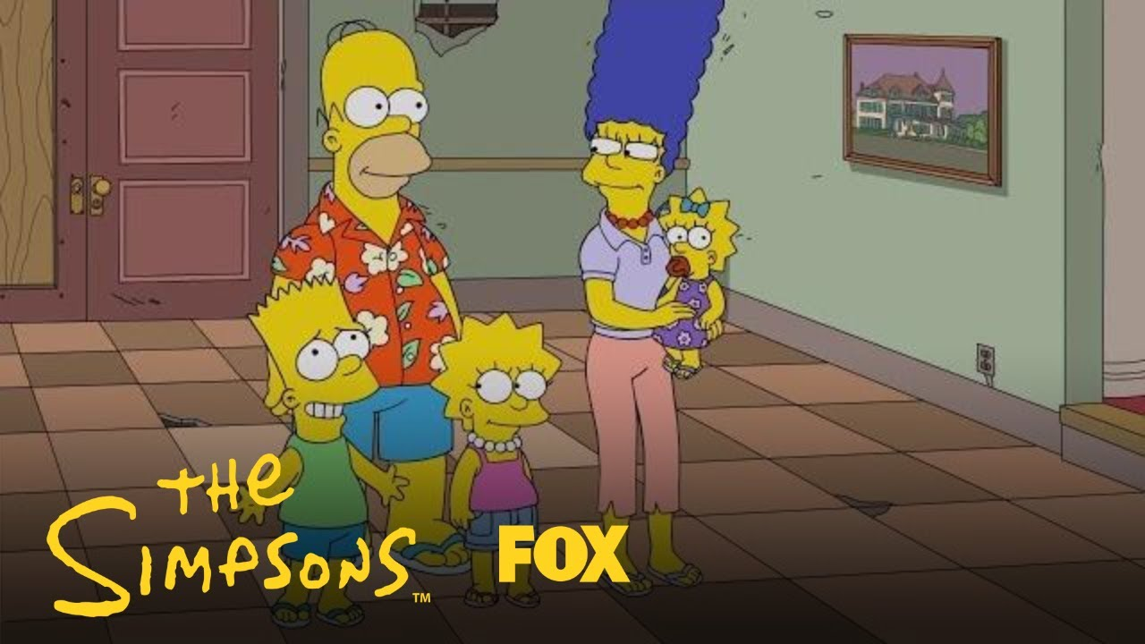 The Simpsons Visit The Hall Of Vice Presidents | Season 30 Ep. 10 | THE SIMPSONS