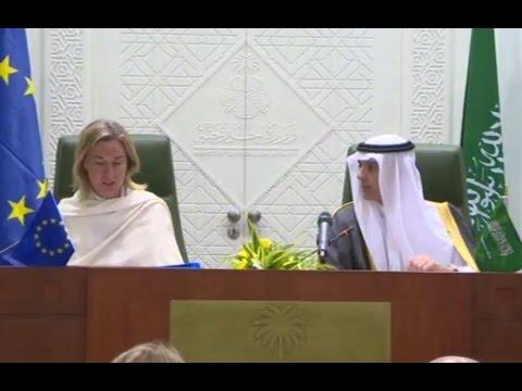Federica Mogherini in Saudi Arabia