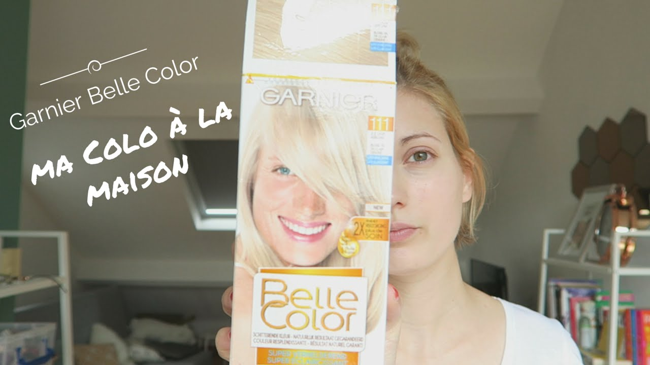 Je Fais Ma Coloration à La Maison Garnier Belle Color Super