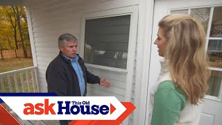 How to Install a Storm Door with a Dog Door | Ask This Old House