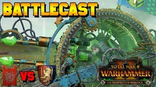 Prophet & Warlock Early Access Battle! DahvPlays (Bretonnia) vs. Skaven | Total War: Warhammer 2