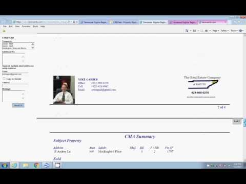 How to do a CMA using MLS
