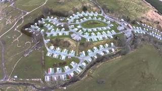 Troutbeck caravan site, Lake District 2015