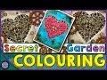 "STEAM LOVE - Colouring from ""Secret Garden"" Colouring Book"