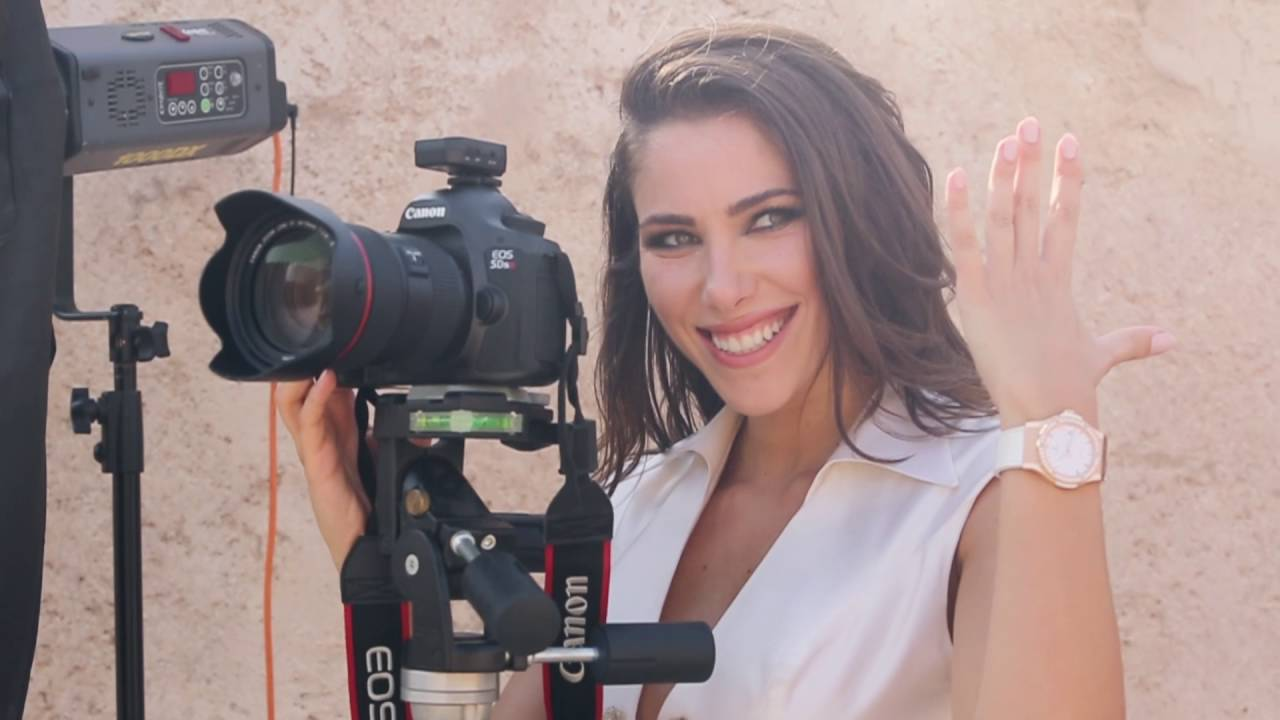 HUBLOT -  BEHIND THE SCENES OF DANIELLA RAHME CAMPAIGN