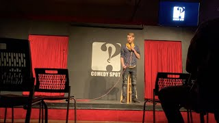 MY FIRST LIVE STANDUP SHOW!