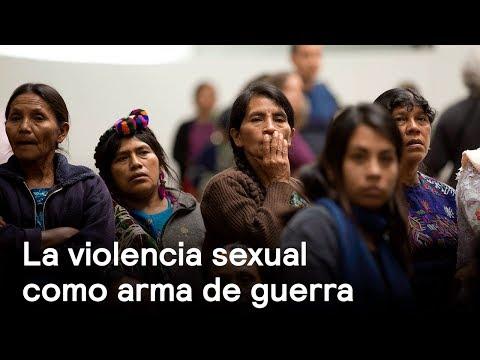La violencia sexual como arma de guerra - Foro Global