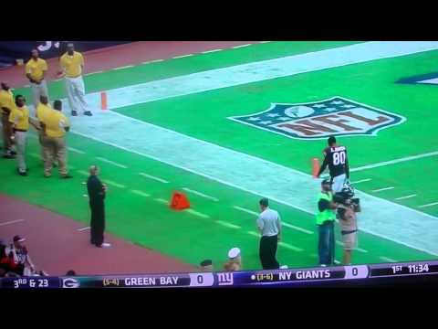ANDRE JOHNSON GOES OFF ON SCHAUB, LEAVES THE FIELD