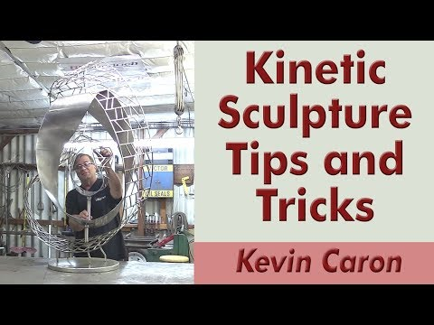 How to Fit a Shaft for a Kinetic Sculpture - Kevin Caron