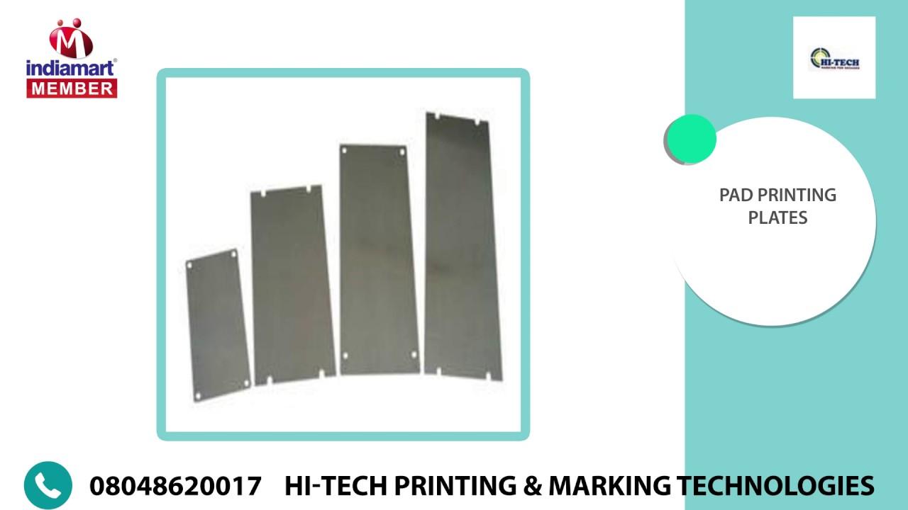 Pad Printing AND Laser Marking Machine By Hi-Tech Printing & Marking  Technologies, New Delhi