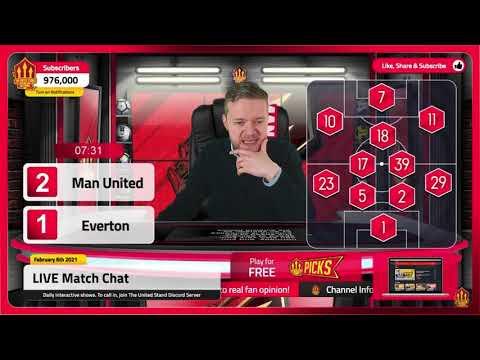 GOLDBRIDGE Best Bits | Man United 3-3 Everton