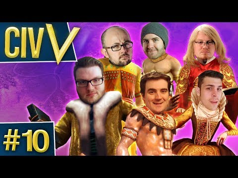 Civ V: Rando Wars #10 - Not Enough Time
