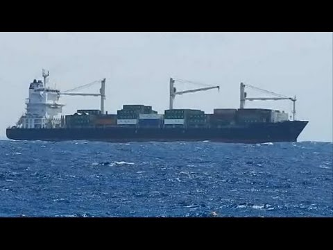 Ships in Gulf of Aqaba (Red Sea, Egypt) - Корабли в заливе Акаба (Красное море, Египет)