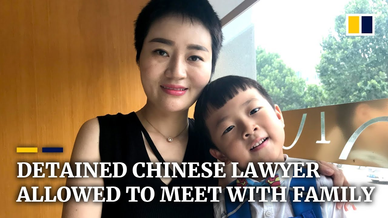Detained Chinese human rights lawyer finally allowed to meet with family after four years