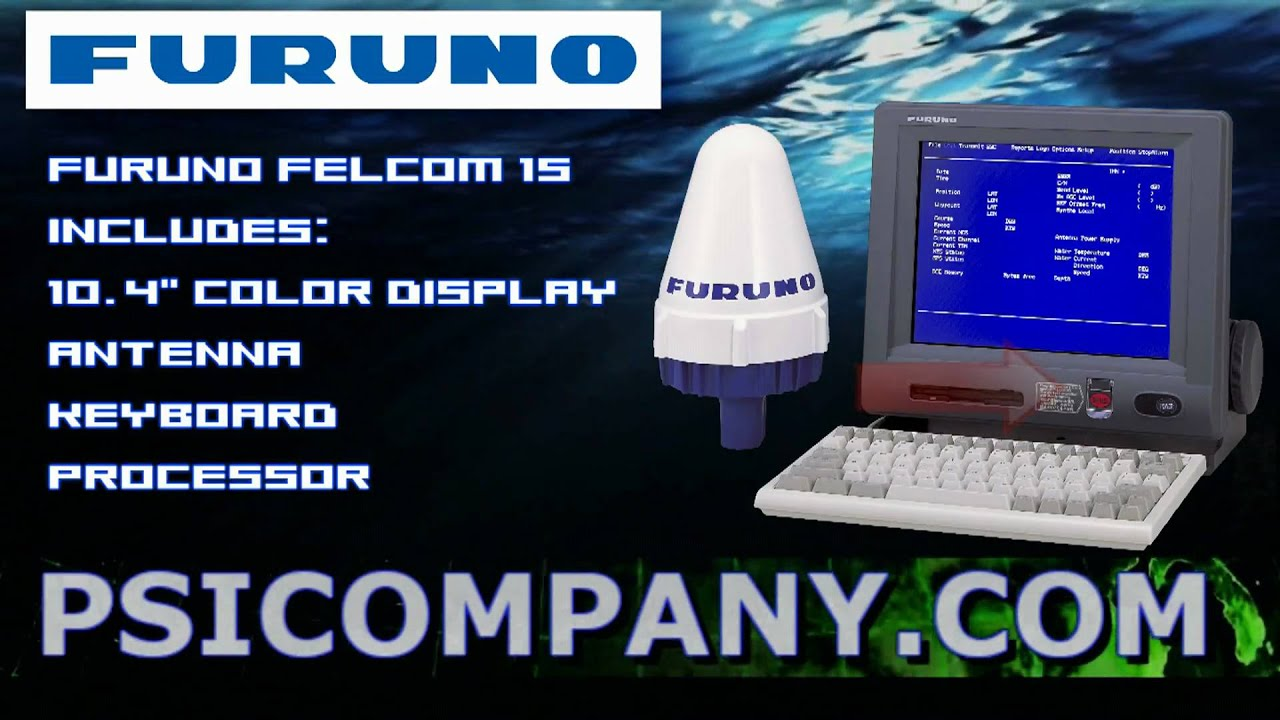 Furuno Felcom 15 InMarSat C with GMDSS Compatibility: Overview - Visit Us  for New Models! by furunodealer