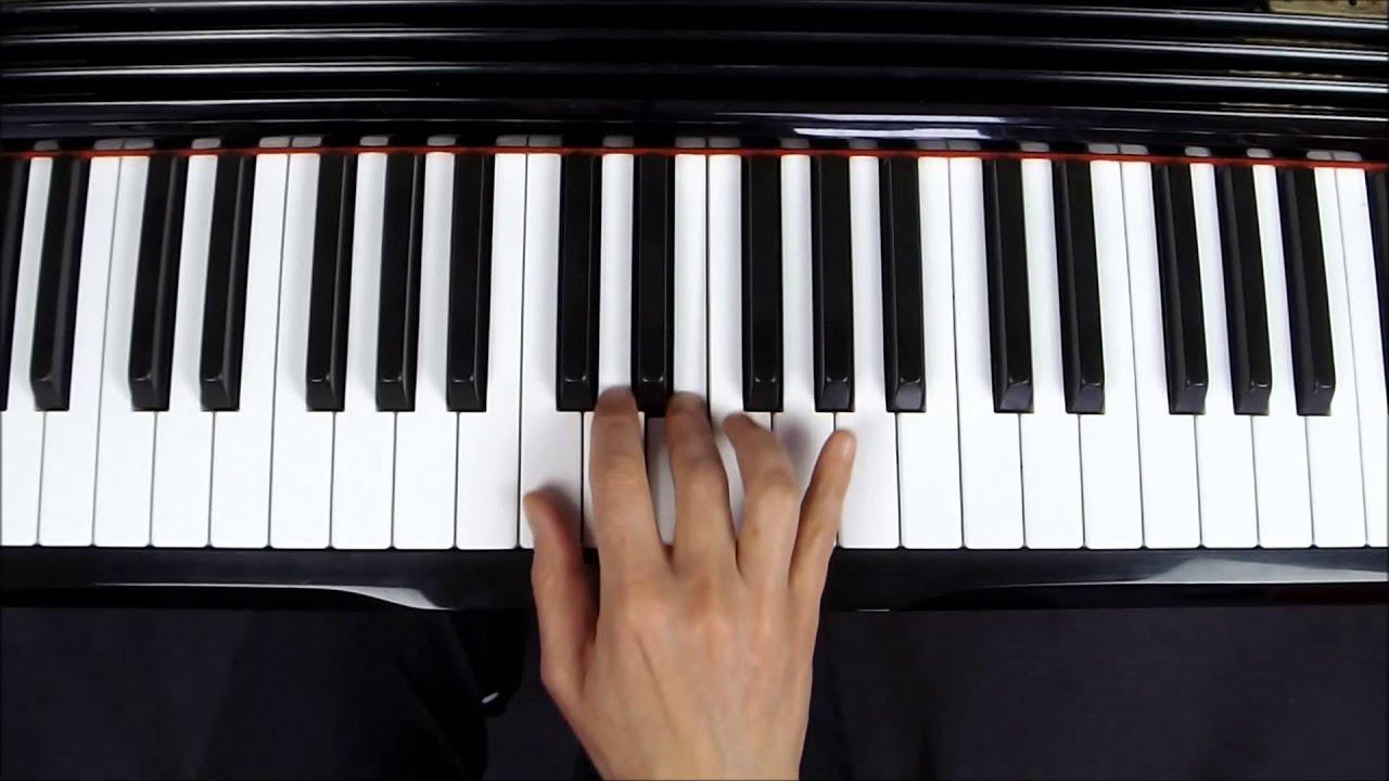 gamme de sol majeur au piano main droite les doigt s. Black Bedroom Furniture Sets. Home Design Ideas