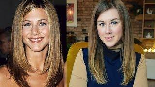 Jennifer Aniston Inspired Hair Tutorial