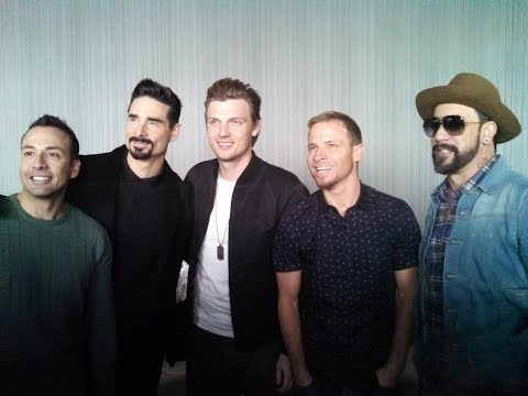 Full BACKSTREET BOYS SHOW 'EM WHAT YOU'RE MADE OF press conference