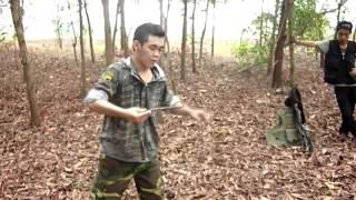 tự vệ chống dao găm (cơ bản)