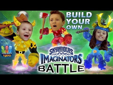 "Thumbnail: Skylanders Imaginators Battle w/ Sky Kids! ""Create-Your-Own"" Duel! (Creation Crystal Challenge)"