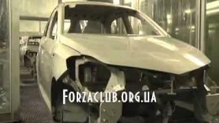 Заз форза (ZAZ Forza)- сборка автомобиля
